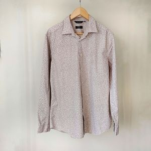 Paul Smith London Button Front Shirt Size 16 1/2